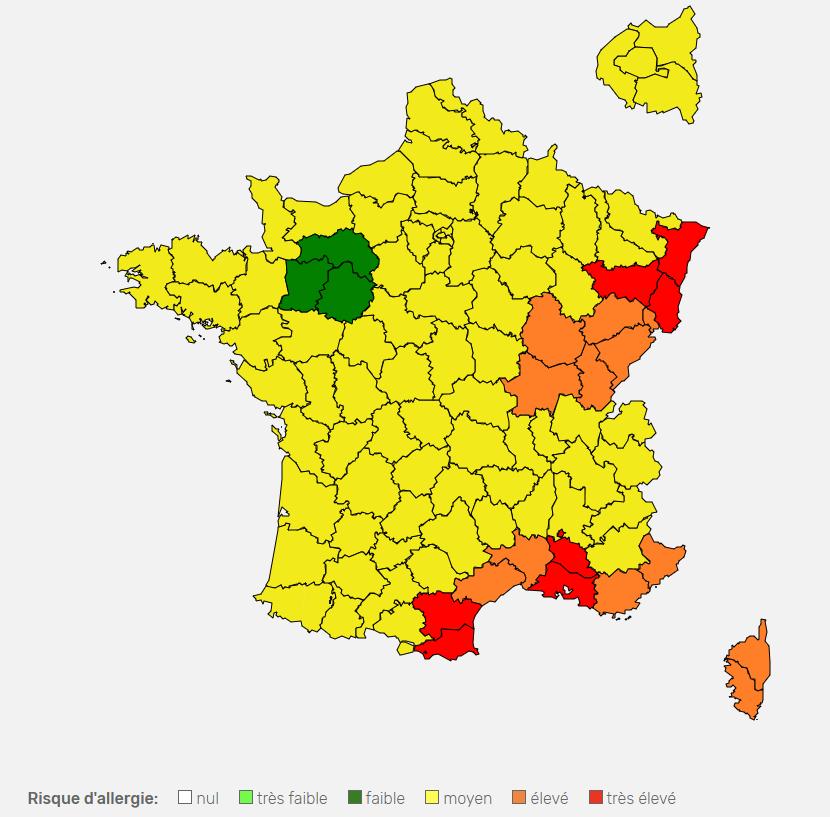 Pollens Alerte Rouge En Alsace Et Vosges Meteo Lor